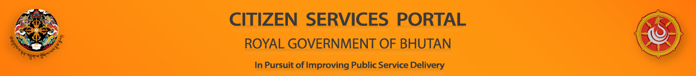 Government to Citizen | Royal Government of Bhutan